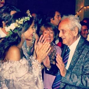 Vem ver que bonita a última homenagem de Margherita Missoni ao avô