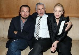 Leonardo DiCaprio e Carey Mulligan em noite pré-gala do MET