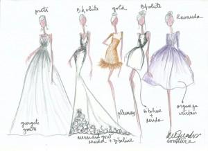 Marcelo Quadros vai abrir ateliê de luxo. Croqui e detalhes aqui