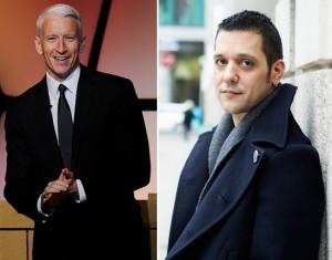Se cuida, Anderson Cooper! Você já tem concorrente à altura