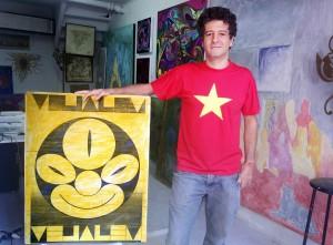 Já conhece Pedro Vicente Alves Pinto, artista plástico sobrinho de Ziraldo?