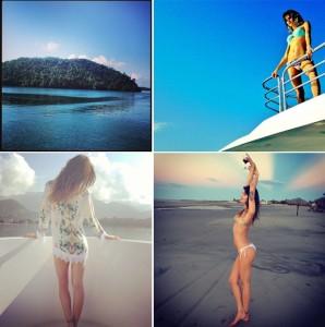 Isabeli Fontana está em Angra. Vem ver as fotos, glamurette