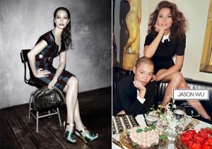 Depois de Calvin Klein, Christy Turlington estrela mais campanhas de moda