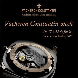 Frattina faz ação especial para os loucos pelos relógios Vacheron Constantin