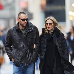 Heidi Klum exagera nos drinks e dá vexame com o namorado em NY
