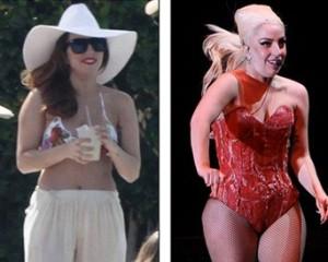Lady Gaga: férias no México e alguns quilos a menos