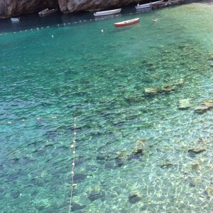 Tudo azul: o dolce far niente de Tania e Marcos Derani em Capri