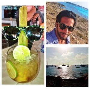 Tudo azul! Tato Malzoni vai comemorar aniversário em Ibiza