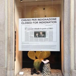 Dolce & Gabbana fecha lojas em Milão em protesto contra o governo