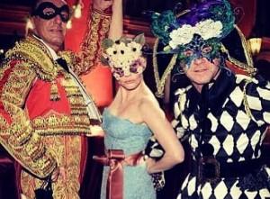 D&G celebra coleção couture com baile de máscaras em Veneza