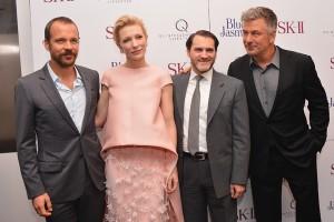 Cate Blanchett e Alec Baldwin lançam novo filme de Woody Allen em NY