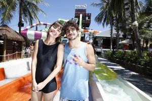 Maria Casadevall e Caio Castro juntos em Fortaleza? Vem!