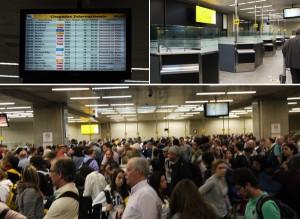 Visita do Papa provoca turbulência nos aeroportos do Brasil. Glamurama viu!