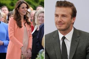 David Beckham sugere nome para bebê de Kate Middleton e William. Qual?