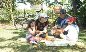 Foi delicioso o domingo no parque do Glamurama e JK Iguatemi. Confira