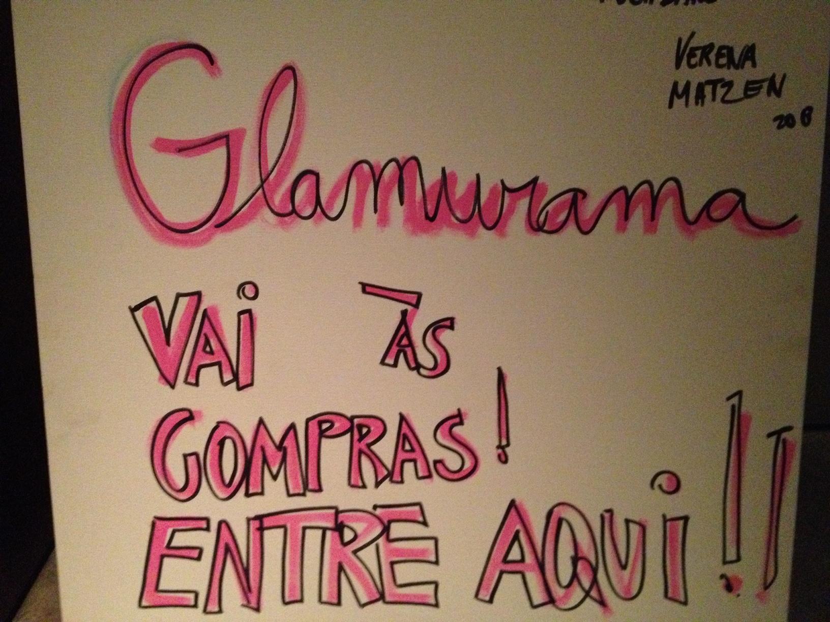 """90fa0107f """"Glamurama vai às compras está imperdível"""". Vem, glamurette!"""