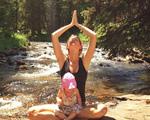 Gisele Bündchen aproveita o sábado com a filha em riacho dos Estados Unidos