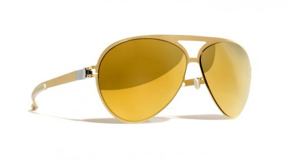 c9cf9496adf8b Entre na onda das celebs com os óculos dourados Mykita Franz – Moda ...