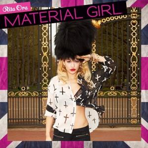Vem ver as primeiras imagens de Rita Ora como estrela da Material Girl
