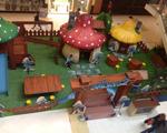 Vila dos Smurfs, do Shopping VillaLobos, anima as férias das crianças