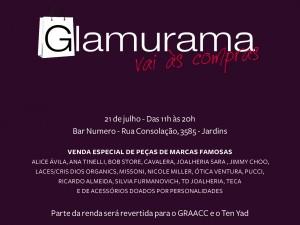 """O evento """"Glamurama vai às compras"""" é para todos. Venha!"""
