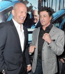 """Bang-bang! Stallone sobre Bruce Willis: """"Ganancioso e preguiçoso"""". Oi?"""