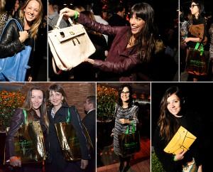 Glamurettes foram presenteadas pela Macadâmia na festa do Glamurama