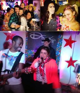 Carol Dieckmann, Preta Gil, Marcelo Serrado e Fernanda Paes Leme juntos. Onde?