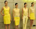 """Tipo solar: Isabella Giobbi """"pinta"""" de amarelo a Galeria Leme"""