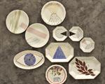 Lá em Casa: as porcelanas pintadas da designer gráfica Roberta Cardoso