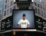 Vem ver Neymar na campanha que aterrissou na Times Square, em NY