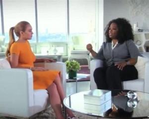 """""""Como é ser viciada?""""… Oprah Winfrey pegou pesado com Lindsay Lohan"""