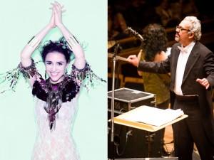 Roberta Sá se apresenta com o maestro Ricardo Bologna e a OSUSP
