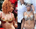 Rihanna mostra boa forma com fotos de antes e depois nas redes sociais