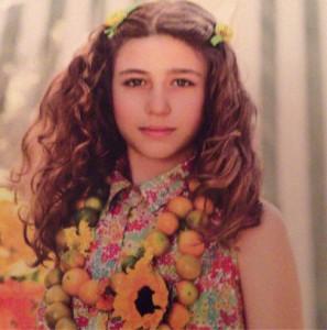 Nasce uma estrela: Stella, filha de Flavia Lafer, posa para catálogo infantil