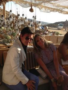Casamento grego. Adriana Vieira e Guga Guizelini se casam em Mykonos