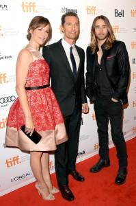 Tapete vermelho do Festival de Cinema de Toronto está estrelado. Vem!