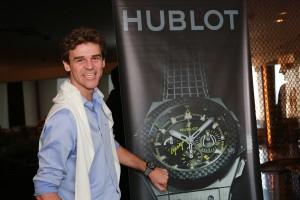 Vem saber do lançamento do novo relógio da Hublot de Gustavo Kuerten
