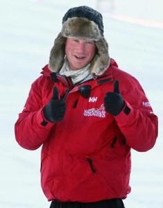 Príncipe Harry vai, literalmente, entrar numa fria. Vem saber dessa!