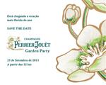 Perrier-Jouët Garden Party promete agitar a chegada da primavera