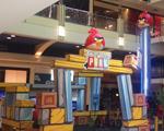 Playground inspirado em Angry Birds é sucesso absoluto no Shopping VillaLobos