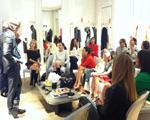 Dior arma apresentação privé no Shopping Cidade Jardim. Aos detalhes