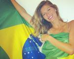 Gisele Bündchen faz homenagem ao Brasil com foto no Instagram