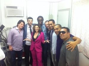 Maria Rita estreia no Rock In Rio e manda foto para o Glamurama. Espia!