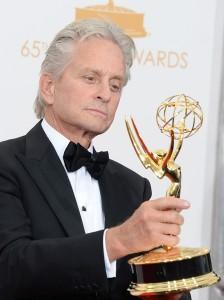 Prêmio Emmy: Michael Douglas agradece Catherine Zeta-Jones