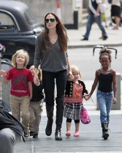 Brad Pitt e Angelina Jolie alugam mansão por R$ 82,5 mil a semana