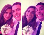 Paula Morais e Ronaldo vão a casamento e ela faz de tudo para ser a próxima…