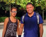 Paula Morais e Ronaldo queimam calorias juntos em Madrid