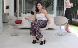 Brunch em torno da designer francesa Francesca Shourouk