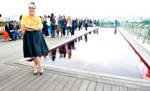 Andrea Viera estreia na semana de moda com sua Pat Pat's